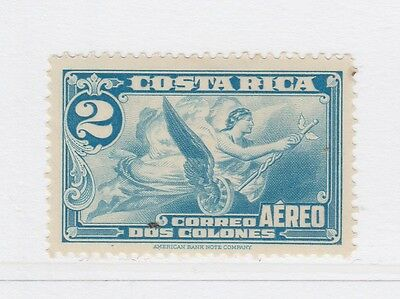 A2P50 COSTA RICA AIR POST STAMP 1934 2col MH*