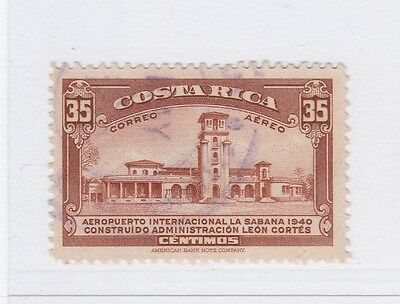 A2P50 COSTA RICA AIR POST STAMP 1940 35c USED