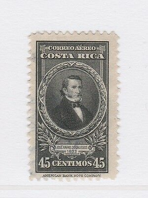 A2P50 COSTA RICA AIR POST STAMP 1943-45 45c USED
