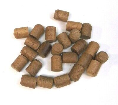"""Pack of 25 BBT Brand 3/8"""" Solid Mahogany Extra Long Wood Plugs"""