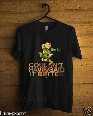 MEAT LOAF Couldnt Have Said It Rock Band Custom Black T-shirt for Men Size S-2XL