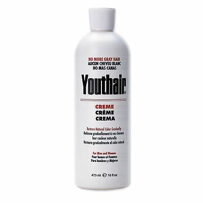 Youthair Hair Creme 16 oz for Men and Women