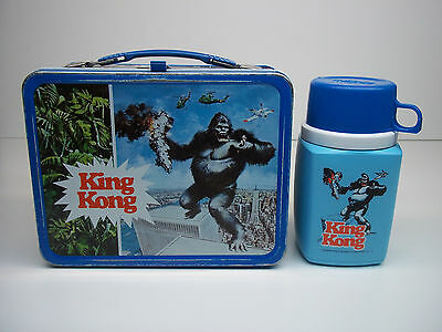 1977 King Kong Lunchbox W/ Thermos