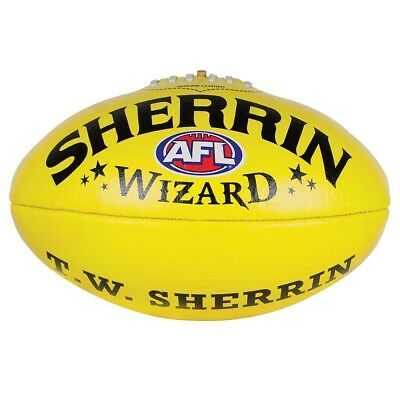 NEW - Sherrin Wizard Imported Leather Football