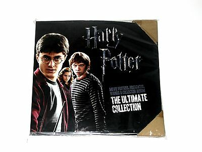 HARRY POTTER The Ultimate Collection Folder + Wands Herald Sun 2011 NEW Complete
