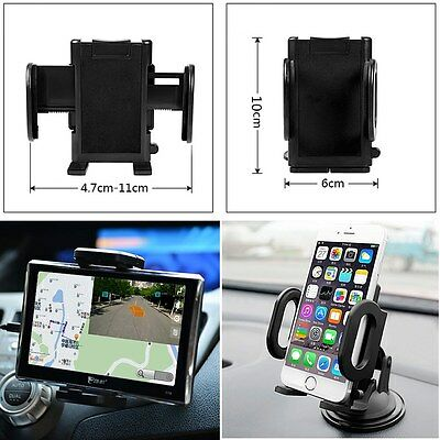 Universal Windshield/Air Vent Mount Car Holder Cradle For GPS iPhone 6 6s 7 Plus