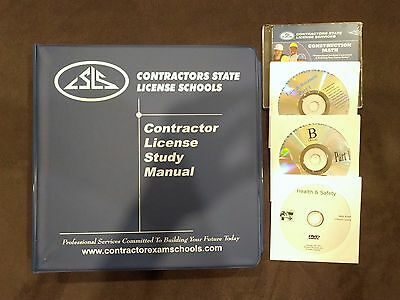 California Contractors State License Home Study Guide B General Building Exam