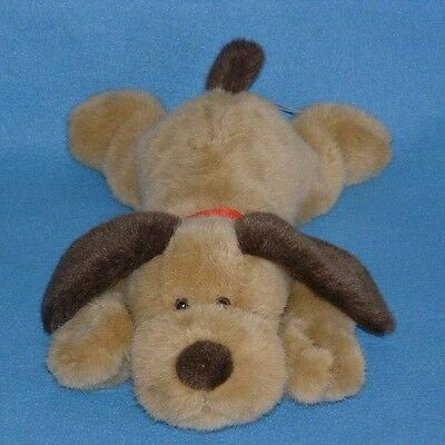 Avon Brown Tan Singing Puppy Dog Jesus Loves Me Plush Collar Heart Heavenly Love