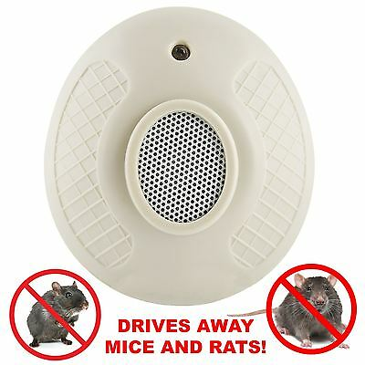 Home Plug In Ultra Sonic Rodent Pest Deterrent Repellent Mice & Rat Repeller