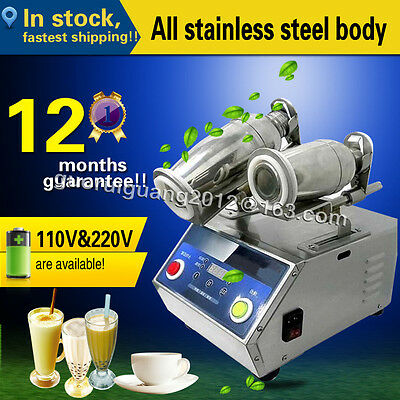 Stainless steel Double heads Milk Bubble tea Shaking Machine,110V/220V,500~700cc