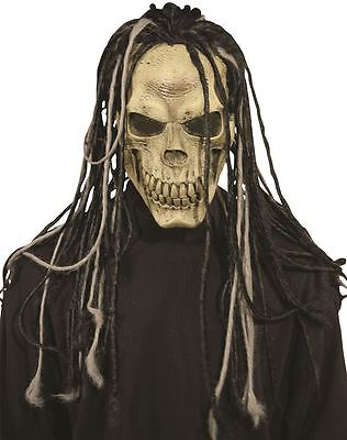 Dead Dread Skull Mask with Dreads