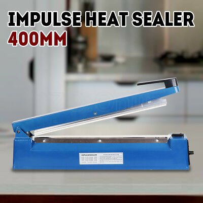 400mm Impulse Heat Sealer Sealing Machine Electric Plastic Poly Bag Brand New