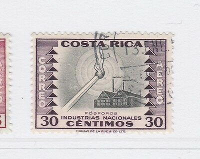 A2P51 COSTA RICA AIR POST STAMP 1954-59 30c USED