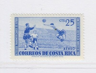 A2P51 COSTA RICA AIR POST STAMP 1960 25c MH*