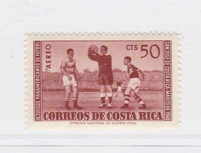 A2P51 COSTA RICA AIR POST STAMP 1960 50c MH*