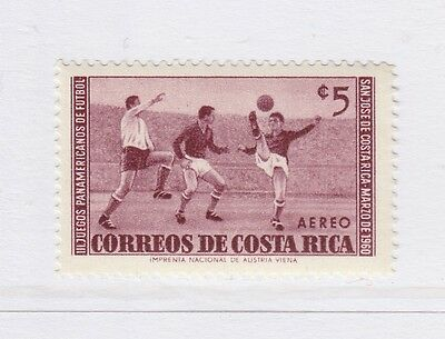 A2P51 COSTA RICA AIR POST STAMP 1960 5col MH*