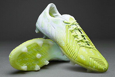 Adidas Predator Instinct Firm Ground Mens Football Boots Hunting Series Neon