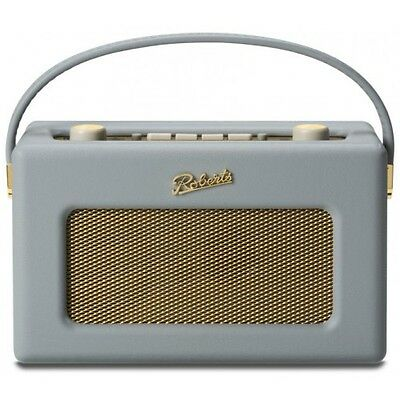 Roberts Revival RD60 Dove Grey FM/DAB/DAB+ Digital Radio Portable Retro  RD-60