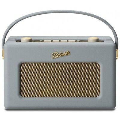 Roberts Revival RD60 FM/DAB/DAB+ Digital Radio Portable Retro Dove Grey RD-60