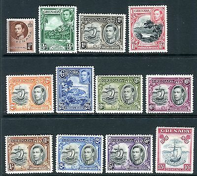 GRENADA-1938-50 A mounted mint set to 10/- Sg 152-163c
