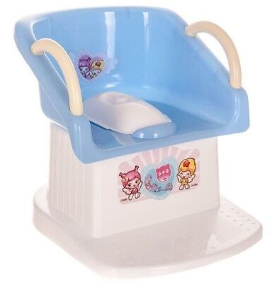 Children Baby Toddler Potty Stool Training Toilet Seat Step Trainer Handle Chair