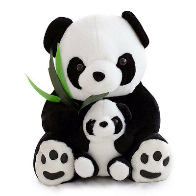Sitting Wild Life Panda Teddy Bear Large Soft Plush Cuddly Huge Extra Large 50Cm