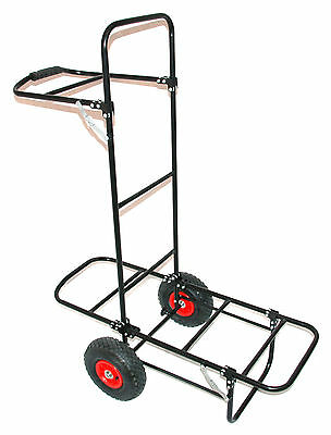 Bison Pull Trolley Fishing Barrow Porter Rrp £79.99
