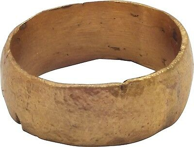 Ancient Viking Ring Wedding Band  C.900A.D. Size 7   (16.7mm)[PWR1076]