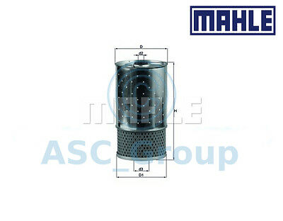 Genuine MAHLE Replacement Engine Oil Filter Insert OX 38D OX38D