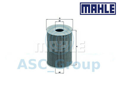 Genuine MAHLE Replacement Engine Oil Filter Insert OX 415D OX415D