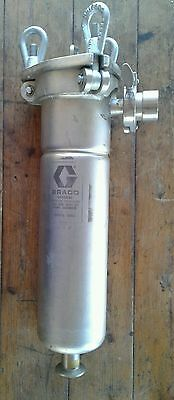 Graco 916366 Stainless Steel Fluid Filter Strainer 300psi Working Pressure