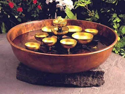 Woodstock Water Bell Tabletop Water Fountain [Kitchen]
