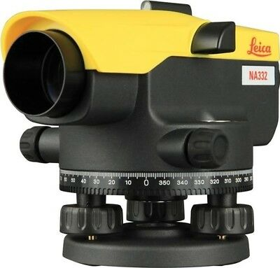 Leica Geosystems NA332 Automatic Optical Level Dumpy 360° 32x Zoom | Surveyor