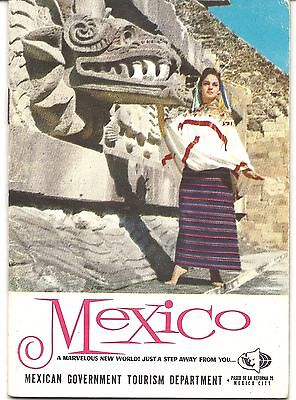 Mexican Tourism Booklet c. 1960