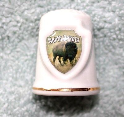 North Dakota ceramic thimble