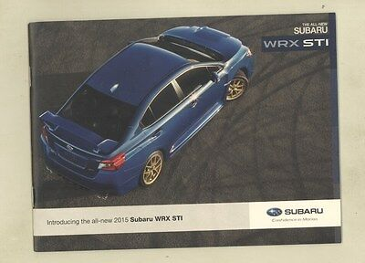 2015 Subaru WRX STI Small Brochure ww2947