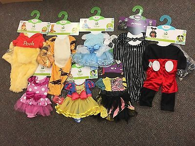 NWT Disguise Disney Baby Halloween Costumes Size 6-12 12-18 Month CUTE!
