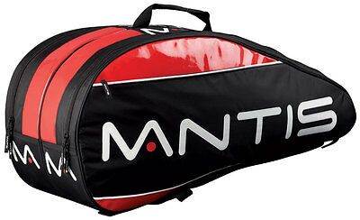 Mantis 6 Racket Thermo Cover Bag Squash Racquets All-Purpose Storage Nylon Bag