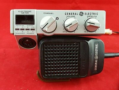 Vintage General Electric 40 Channel Cb Radio Model 3-5806A