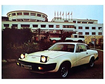 1976 1977 Triumph TR7 Factory Photo ca5938