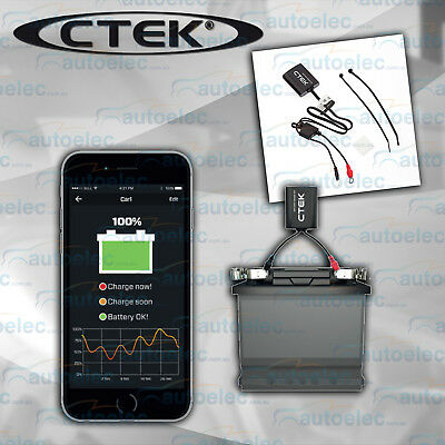 CTEK CTX BATTERY SENSE BLUETOOTH BATTERY MONITOR iPHONE ANDROID DATA LOGGING