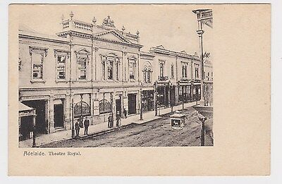Theatre Royal Adelaide Hindley St OLD real photo POSTCARD 1907 South Australia