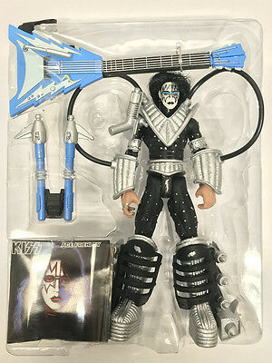 1997 Kiss ACE FREHLEY Mcfarlane Action Figure Loose 100% Complete