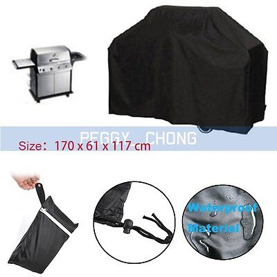 170cm Outdoor pluie étanche neige BBQ Cover Grill Housses protection barbecue