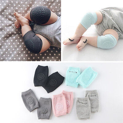 2Pcs Baby Infant Toddler Kids Anti-slip Safety Crawling Elbow Cushion Knee Pad