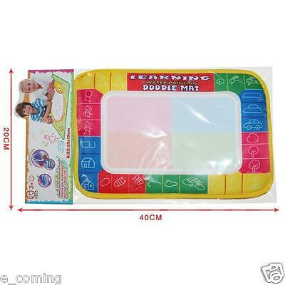 Kids Water Writing Painting Drawing Mat Board Magic Pen Doodle Toy Xmas Gift