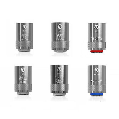 5 Pack Replacement Coil Head For Joyetech Cubis/AIO SS316