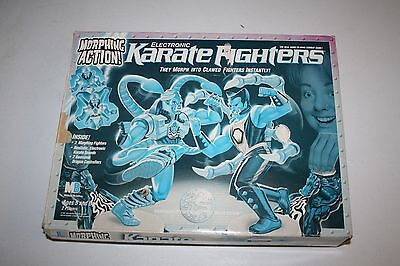 Karate Fighters Game With Figures