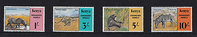 Kenya - 1985 Endangered Animals - U/M - SG 365-8
