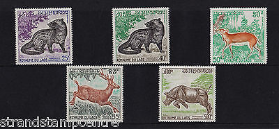 Laos - 1971 Wild Animals (3rd Series) - U/M - SG 331-5